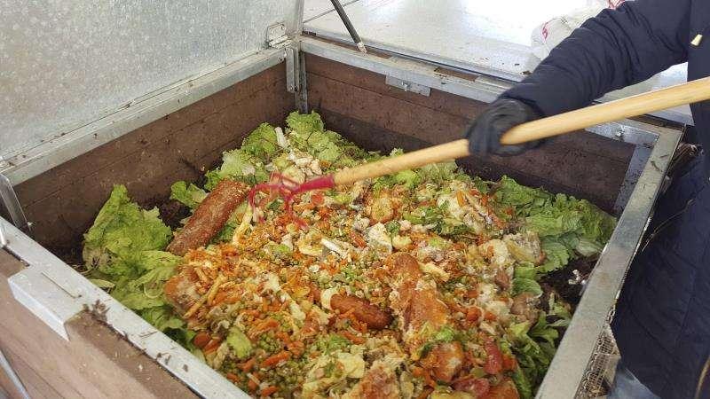 Un contenedor de compostaje. EFE/Archivo