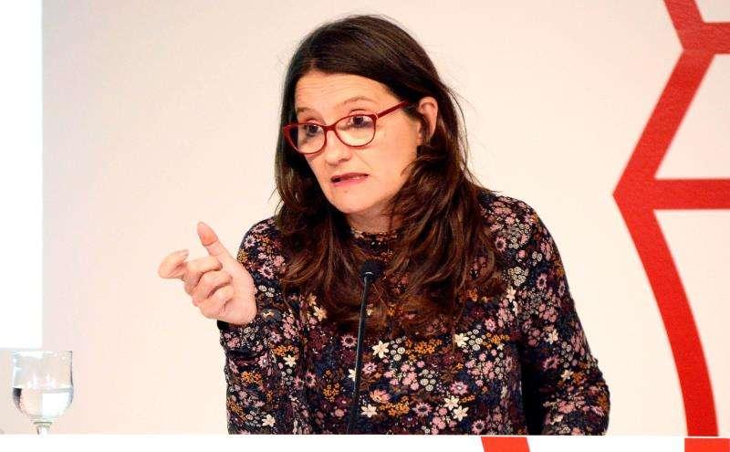 La vicepresidenta y potavoz del Consell, Mónica Oltra. EFE/Archivo