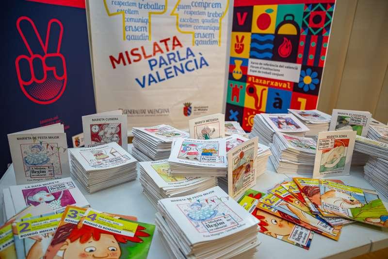 Libros en Mislata. EPDA