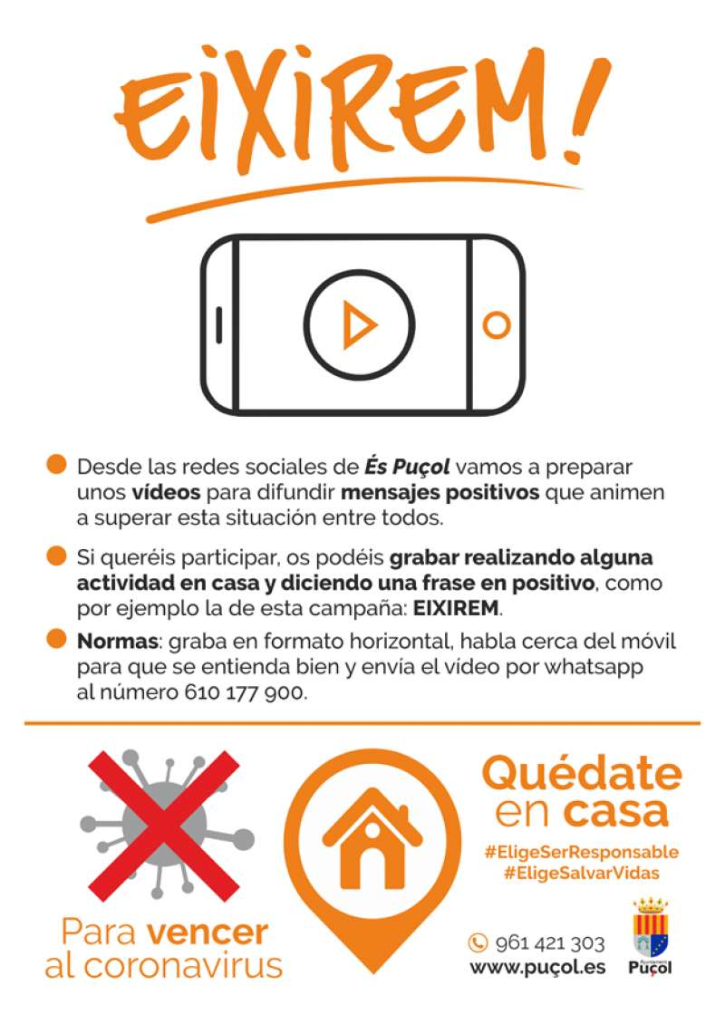 Cartel proyecto Eixirem!./PDA