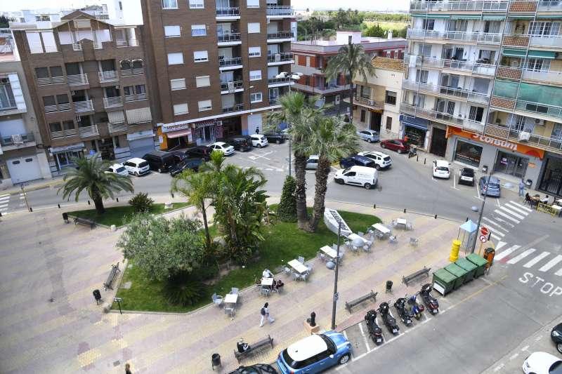 Plaça de Paiporta a remodelar. EPDA