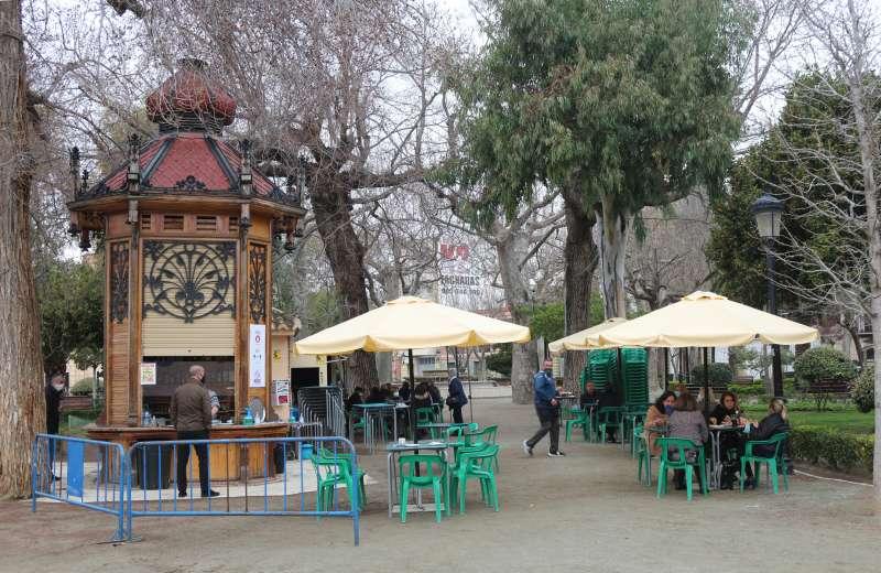 Kiosko de la Glorieta de Segorbe