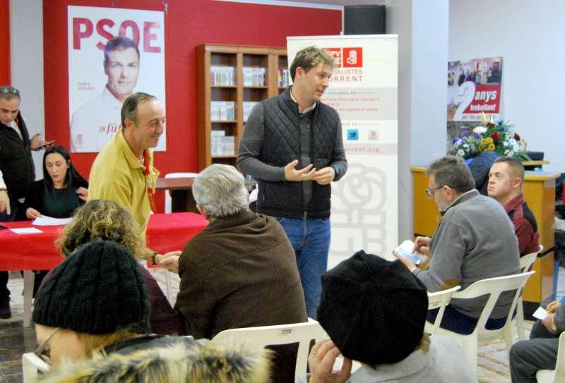 Andrés Campos, nuevo secretario comarcal del PSPV en l