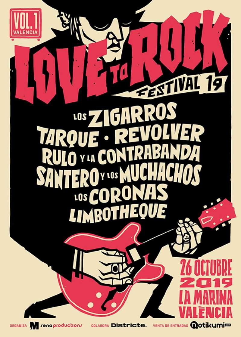 Cartel del Love to Rock 2019. EPDA