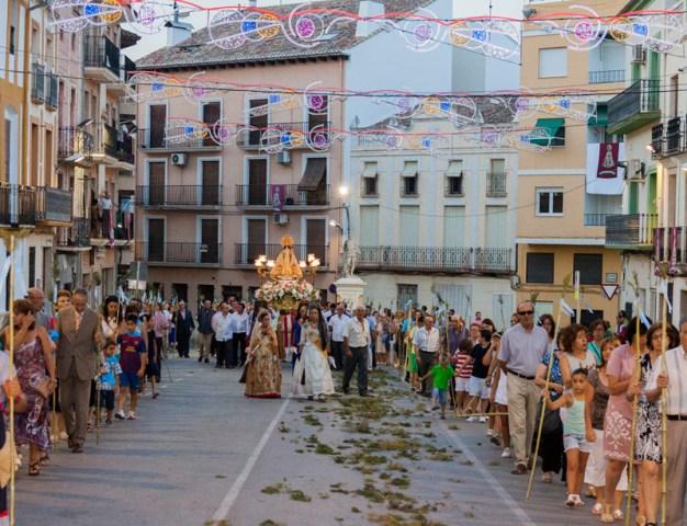Peregrinación realizada el día de la apertura del Año Santo Jubilar, el pasado 24 de julio. FOTO: AVAN