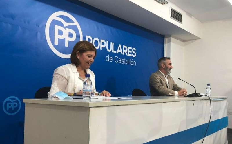 Isabel Bonig y Miguel Barrachina