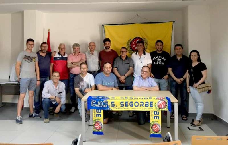 Nueva junta directiva del CDFS Segorbe