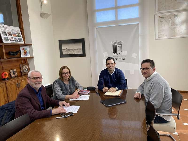 Reunión de los alcaldes de Paterna, Alboraia, Sedaví y Tavernes Blanques. EPDA