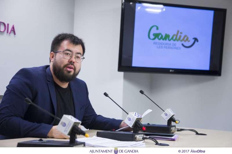 El regidor de Responsabilitat Social, Nahuel González