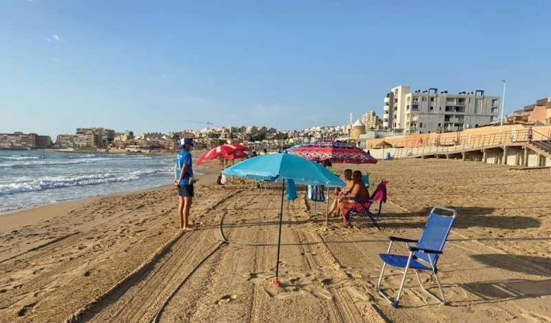 Torrevieja se ha esforzado por mantener las playas seguras