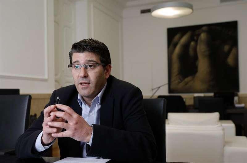 El expresidente de la Diputación de Valencia y actual alcalde de Ontinyent, Jorge Rodríguez. EFE