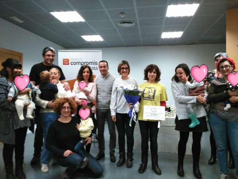 Premi al grupo AMAMANTA Mislata. EPDA