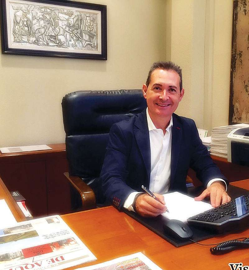 El portavoz de movilidad, Michel Montaner. EPDA