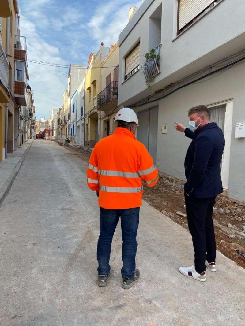 Obras calle Sant Josep