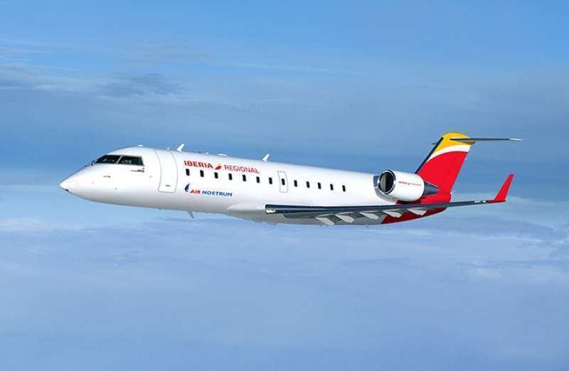 Avión de Air Nostrum. EPDA