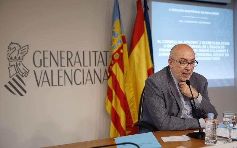 El Conseller de Transparencia, Manuel Alcaraz. EFE/Archivo