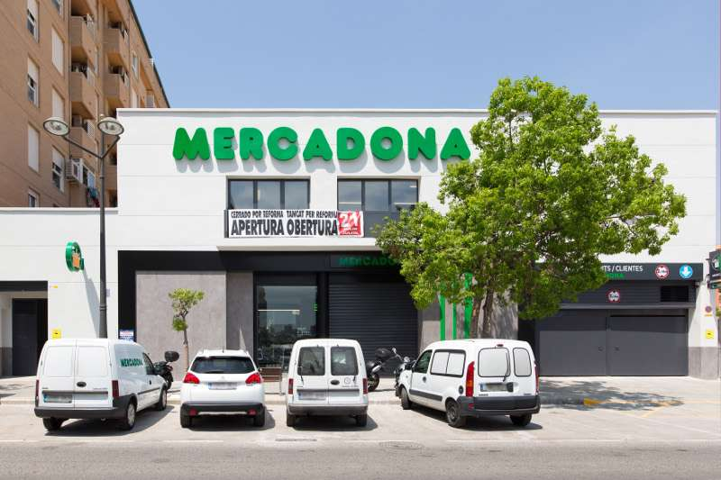 Mercadona de Carrera Malilla en Valencia