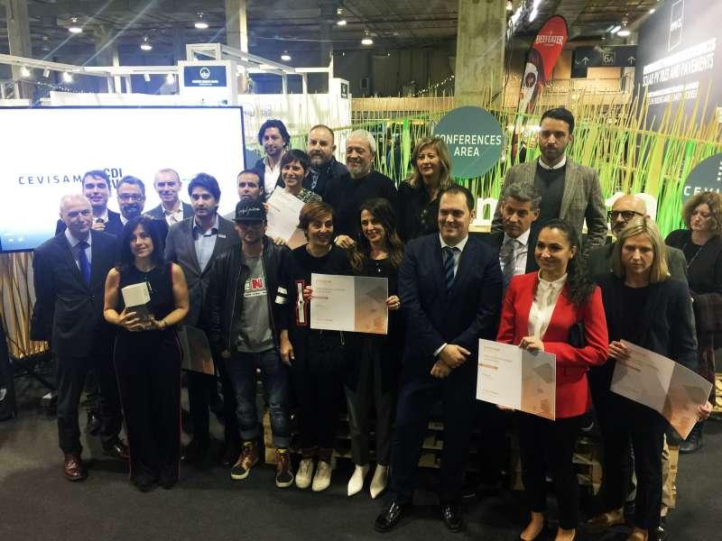 Ganadores de los Premios CDICV a los mejores stands en Cevisama 2019