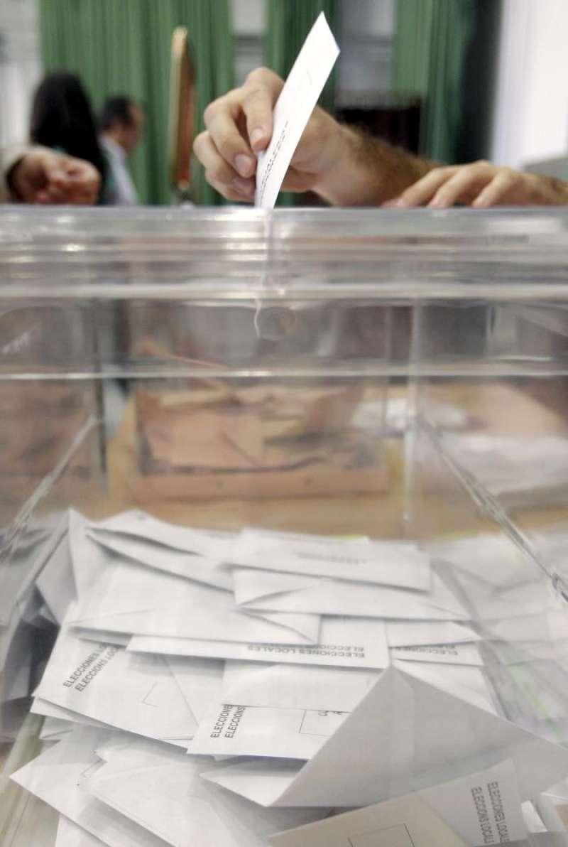 Una urna electoral. EFE
