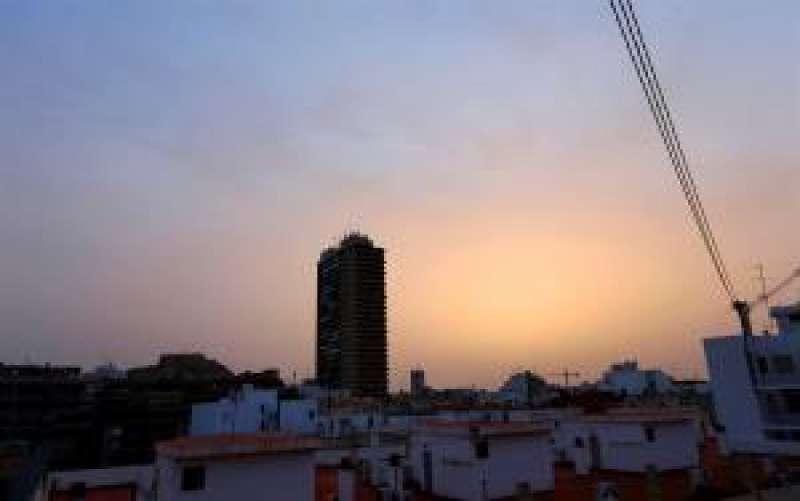 Cielo en Alicante. EFE