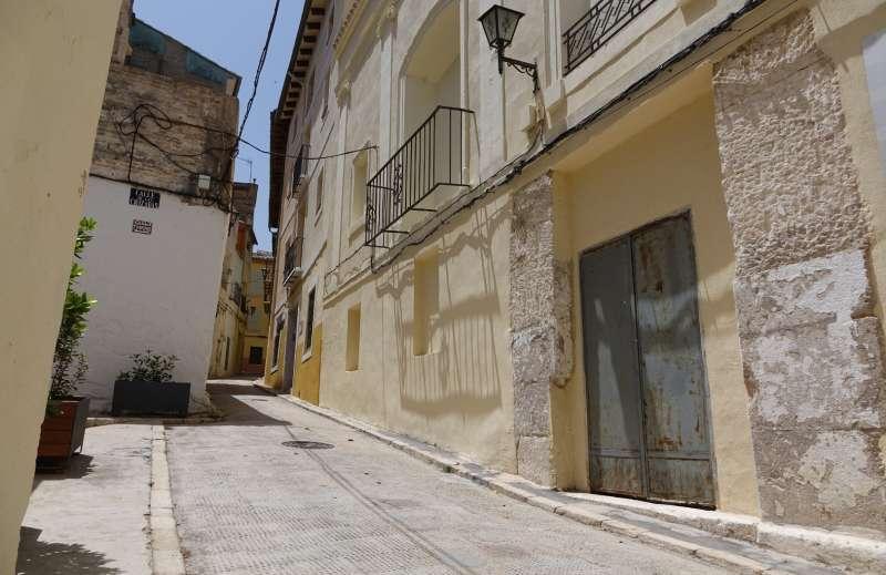 Carrer del barri de La Vila d