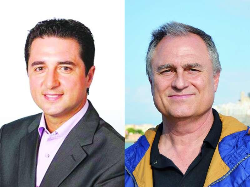 Paco García y Manolo Civera. //EPDA