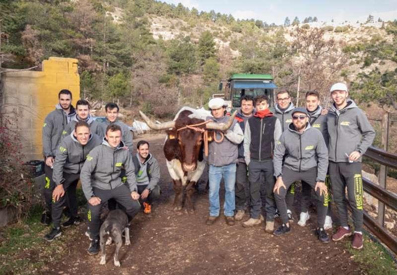 La comisión de toros en Mora de Rubielos