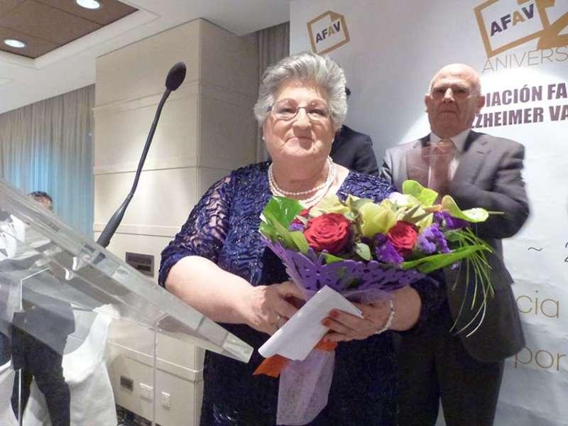 Juana García, presidenta de AFAV. FOTO EPDA