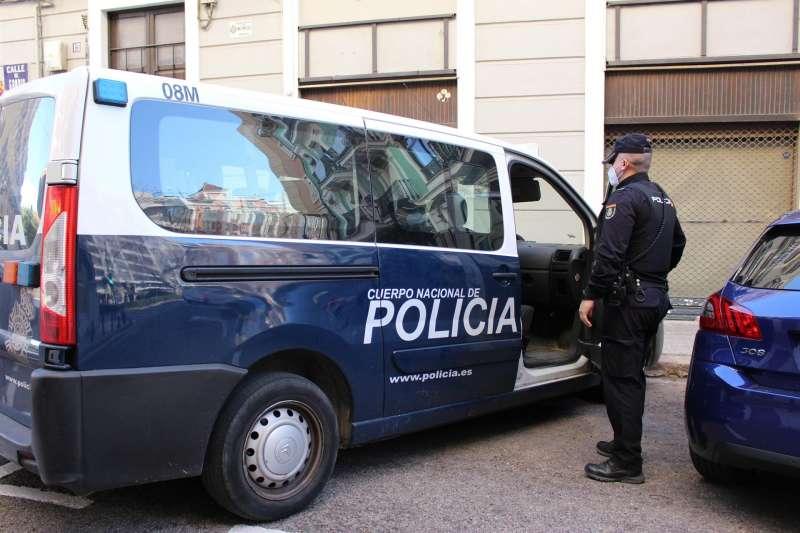 Vehículo de la Policía Nacional. Foto cedida por l Jefatura Superior de Policía de la Comunitat Valenciana