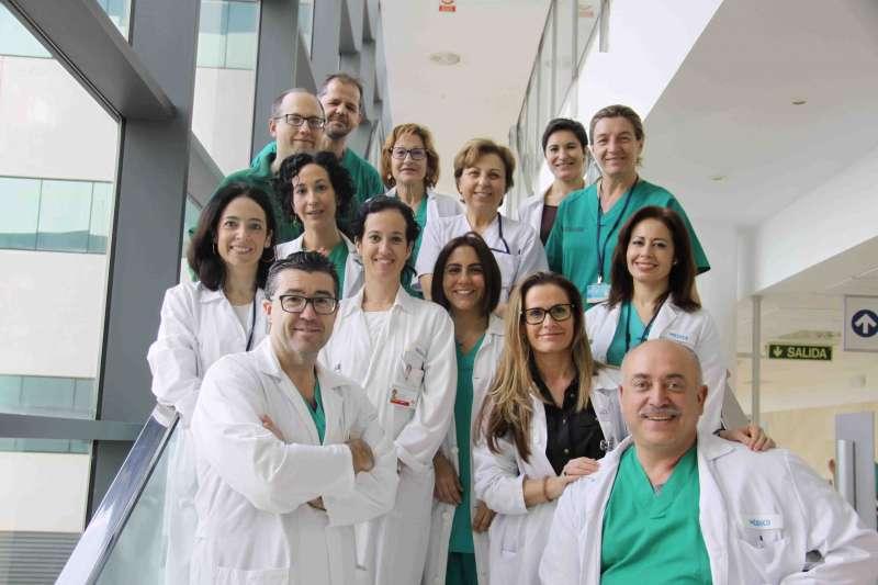 Equipo médico del Servicio de Anestesiología y Terapia del Dolor del Hospital Universitari i Politècnic La Fe de Valencia