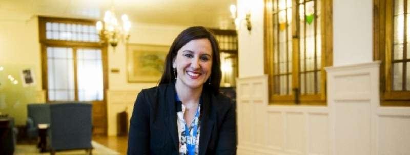 La portavoz adjunta del Grupo Popular en Les Corts y Vicesecretaria de Política Social del PPCV, María José Catalá