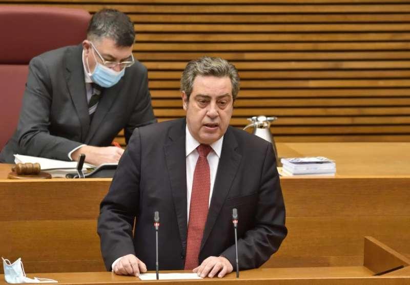 José Mª Llanos, portavoz del Grupo VOX