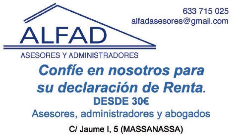 Anuncio de Alfad Asesores de Massanassa. EPDA