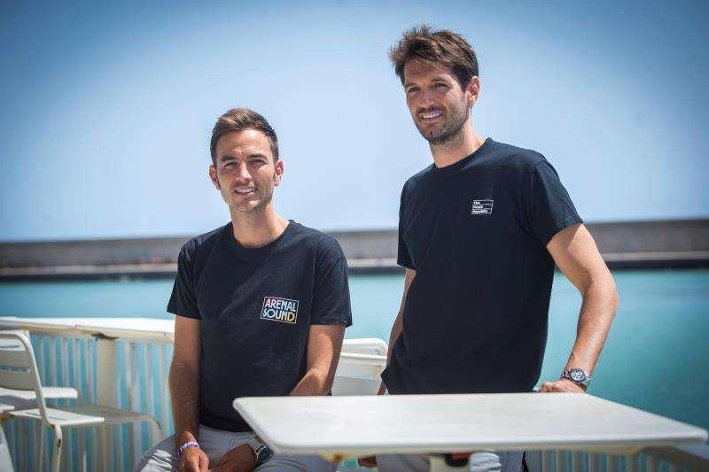 Los hermanos David y Toño Sánchez, promotores del Arenal Sound, han informado este mediodía de las cifras provisionales de asistentes. EFE