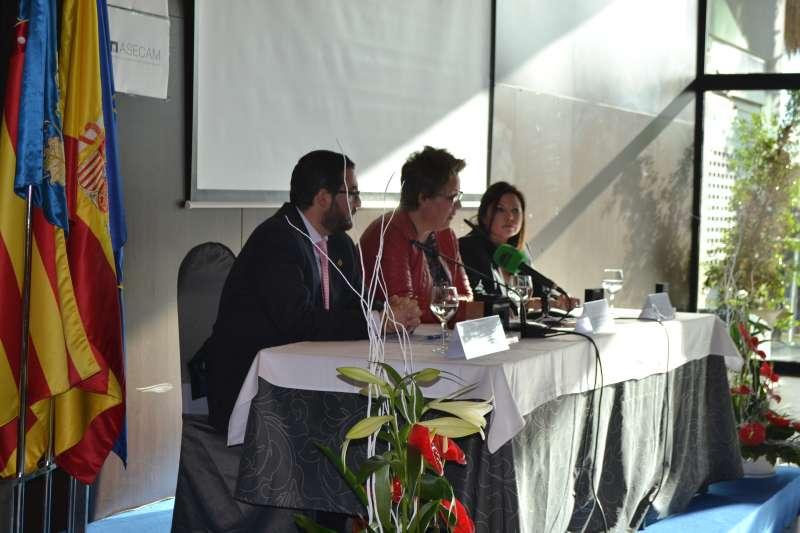Acto de apertura del XV Encuentro de Asecam. EPDA