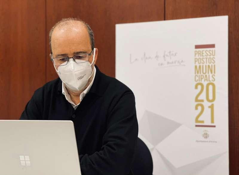 Diego Gómez, alcalde Alzira./Ajuntament Alzira