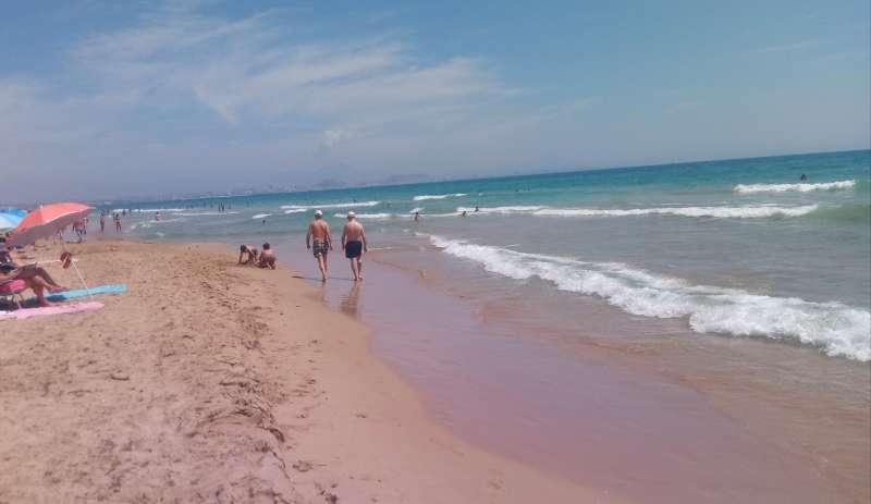 Playa de Elche./ PDA