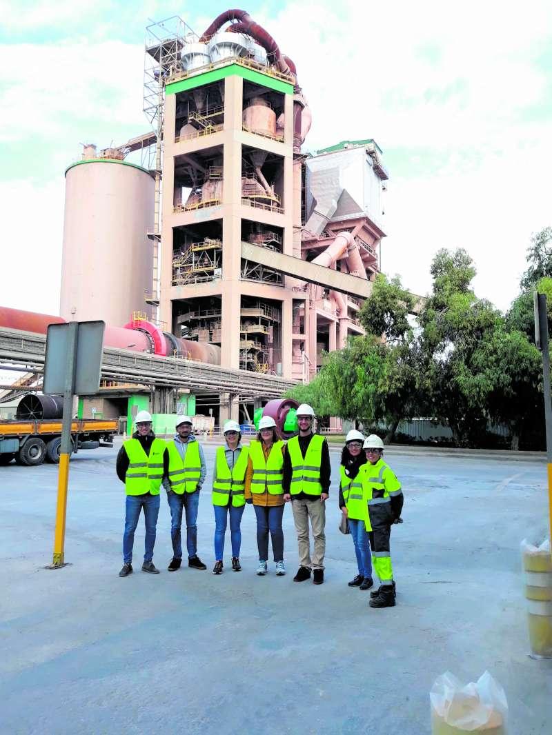 Visita a la fábrica de Lafarge Sagunt. EPDA