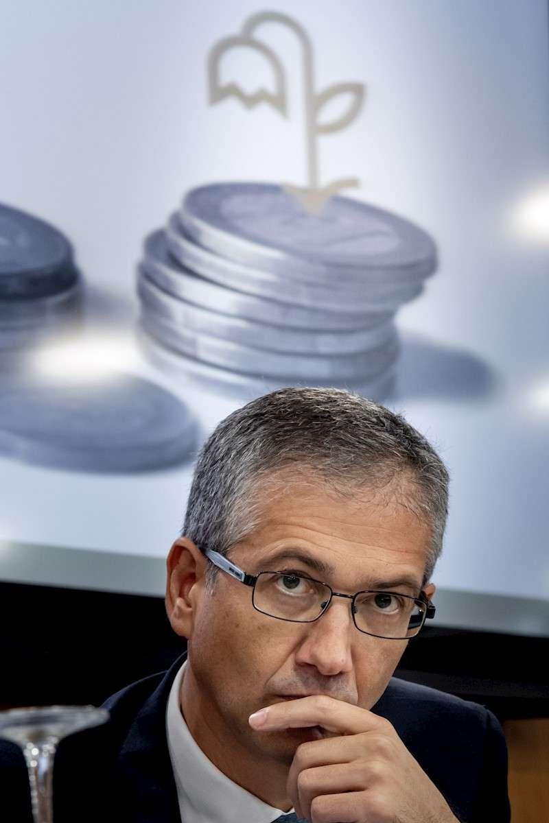 El gobernador del Banco de España, Pablo Hernández de Cos. EFE/Biel Aliño