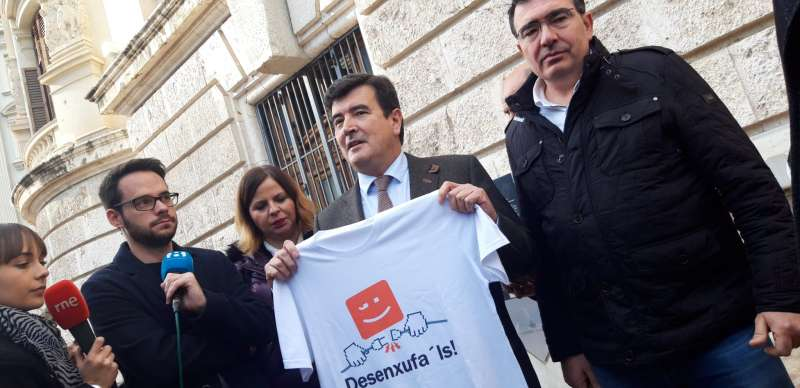 Comunicat als mitjans de comunicació del portaveu de Ciudadanos. EPDA