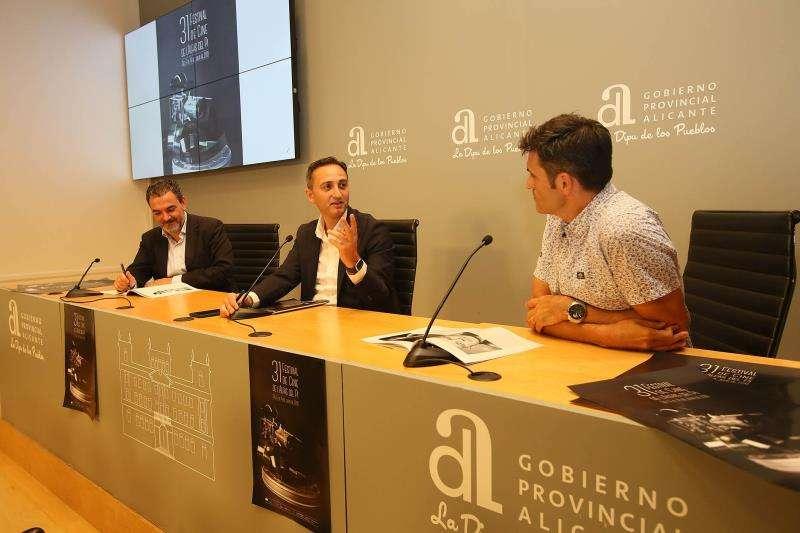 Imagen de la presentación de la 31 edición del Festival de cine l