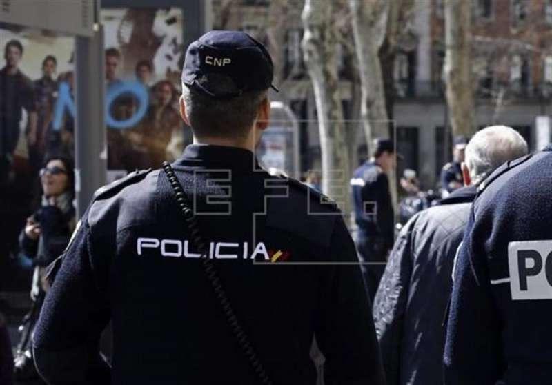 Un agente de la Policía Nacional. EFE