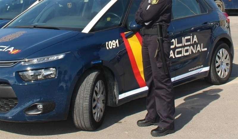 Coche de la Policía en una imagen de archivo..