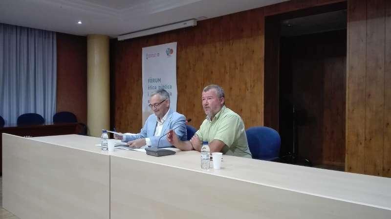 Josep Vicent Boira y Quico Fernández