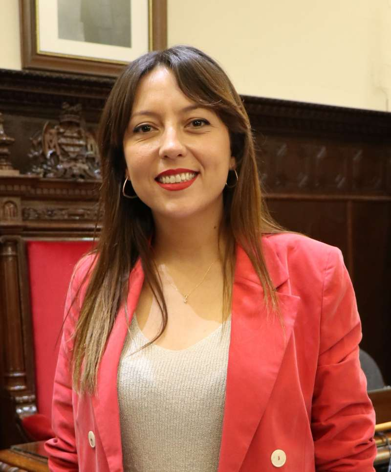 Gloria Parra.