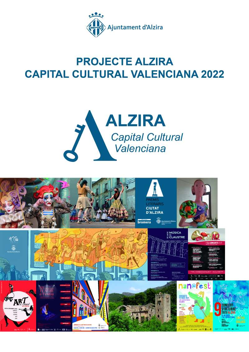 Cartell candidatura Capital Cultural Valenciana 2022./EPDA