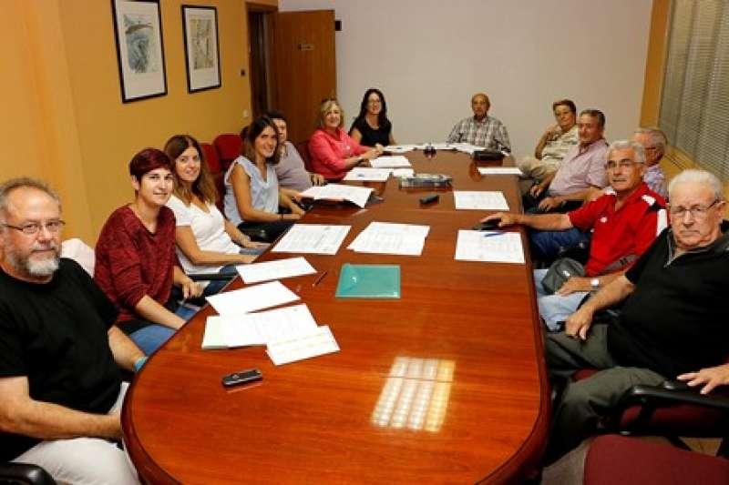 Reunión en el ayuntamiento de Puçol. EPDA