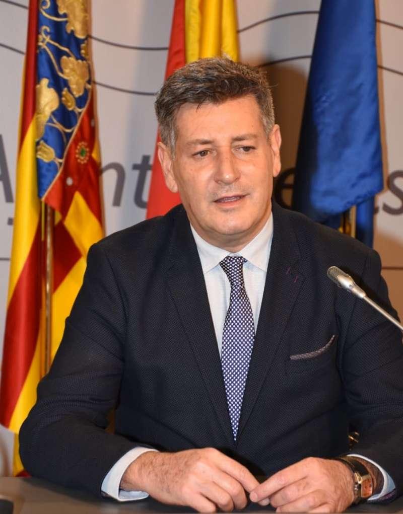 El Presidente Nacional de Contigo Somos Democracia, José Enrique Aguar