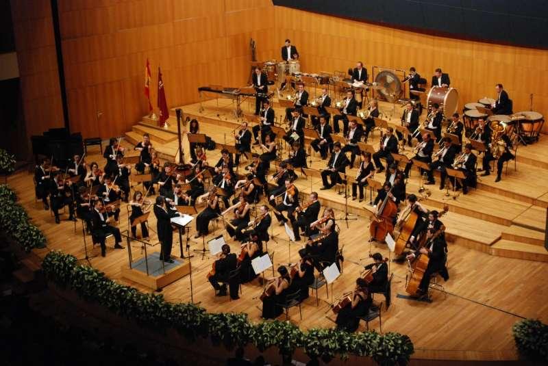La Orquesta Sinfónica de la Región de Murcia en concierto