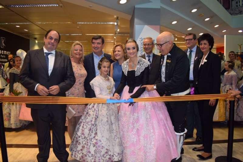 Inauguración de la exposición de maquetas de las Fallas 2020. EPDA